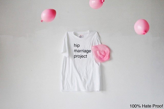 Hip Marriage Project T-shirts