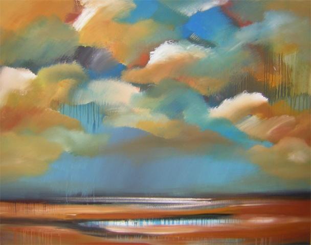 Storm on the Summer Marsh