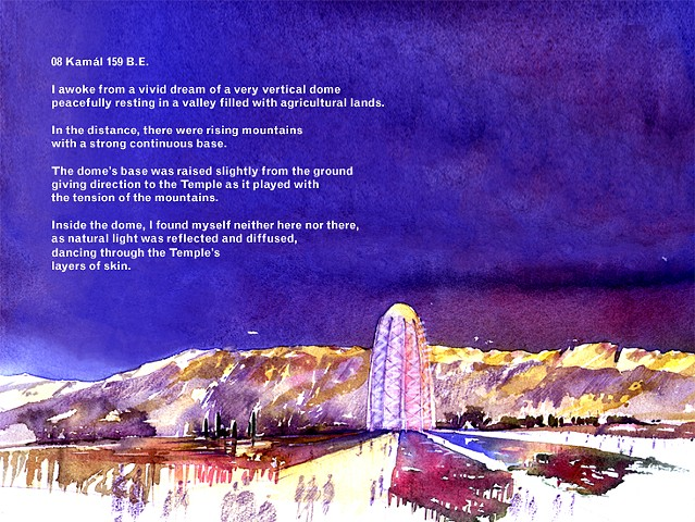 Bahá'í House of Worship The Mother Temple of South America Design Proposal