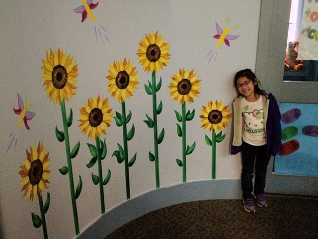Sunflowers and Doodlebugs