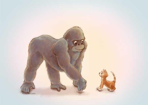 Koko and Friend