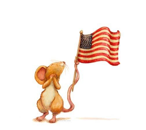 Flag Mouse
