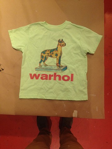 The Andy Warhol Museum Toddler t shirt made in The Factory