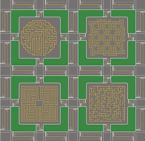Parking Lot Maze