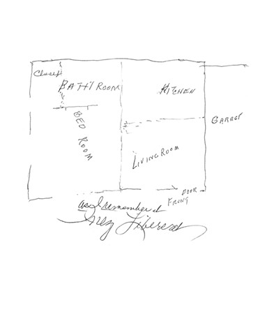 Hurricane House - Inez's Floorplan