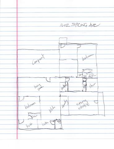 Hurricane House - Murray's Floorplan