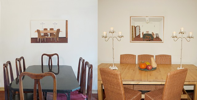 International Installation my dining room in your dining room