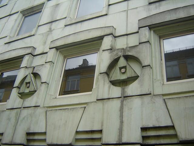 Norwegian facade