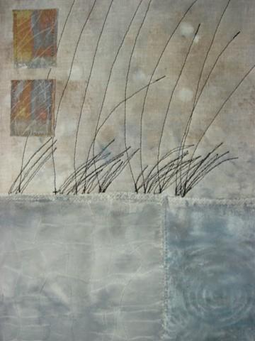 Water art quilt