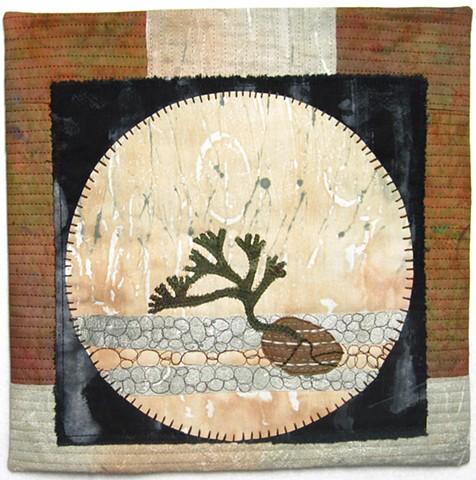 Plant art quilt