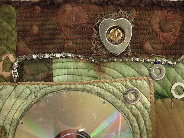 Art quilt jewelry CD