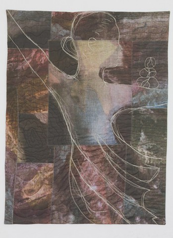 Female Figure Art Quilt