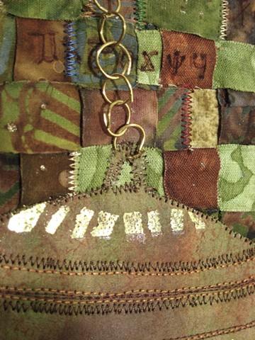 Art quilt woven