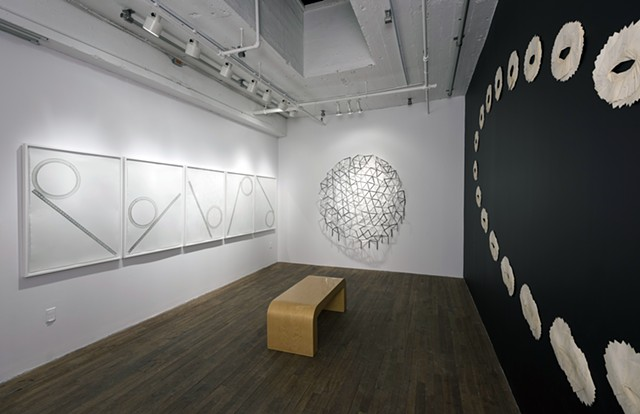 In and Out of Order  Oboro, Montreal.  Curated by Claudine Hubert Feb-Mar