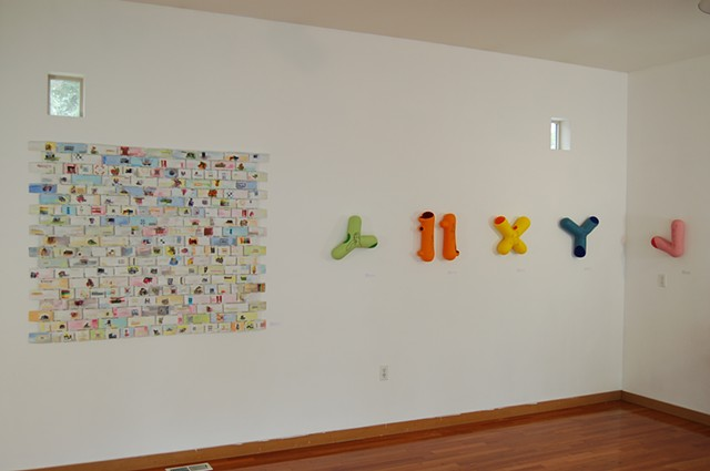 Surel's Place, Boise, Installation View