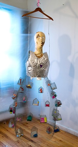Marina Gutierrez - Disillusionment Gown / Body Mask Series