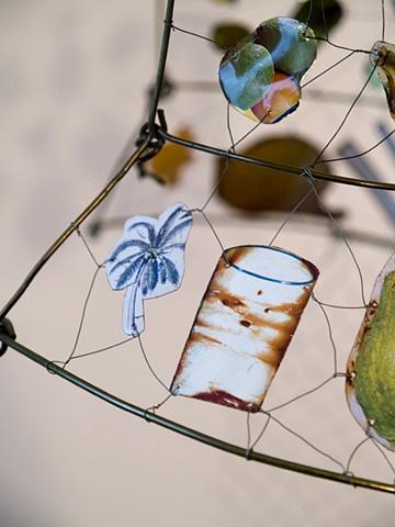 Marina Gutierrez - Conjure Dress / Body Mask Series - wearable sculpture - Constructing identity as imagined memory,