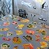 Marina Gutierrez - Casita 3 - detail table w metal fruit