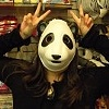 Panda face!