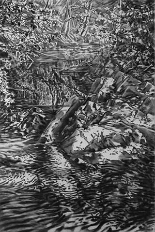 Springtime Creek Charcoal