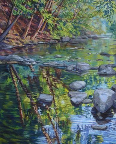 Summer Creek Pastel