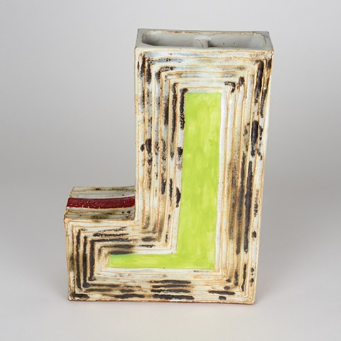 L-Shaped Vase (View 2)
