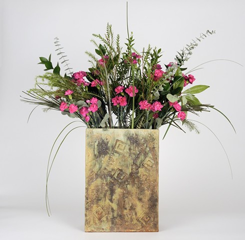 Template Flower Vase #2 (View 3)