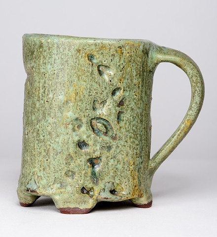 Copper Textured Cup w/ Handle