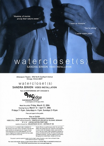 Watercloset(s) Postcard