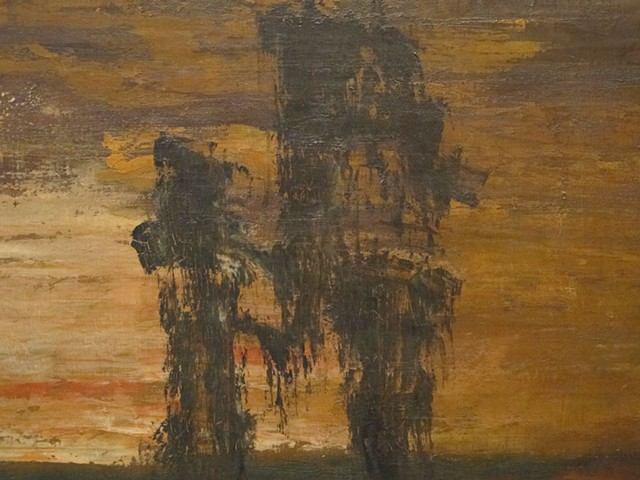 Detail Gustave Moreau painting