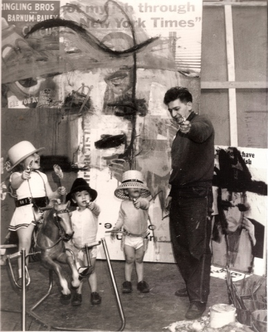 Herbert L. Brown & Kids in Studio