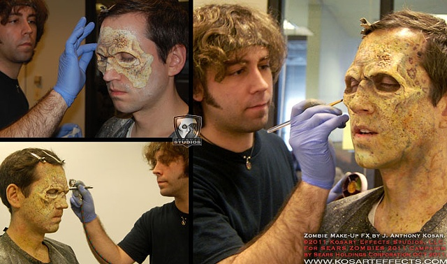 Sears ZOMBIES  Prosthetic 3 Application