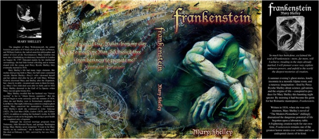 Mary Shelley's Frankenstein - Book Jacket