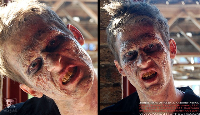 Sears ZOMBIES  On-Skin Silicone 1
