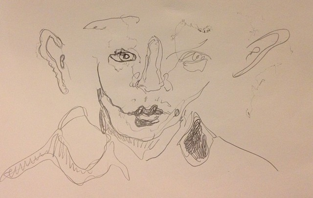 Face drawing cortright