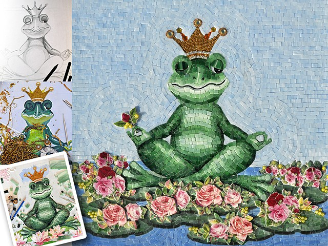 Frog prince finished
