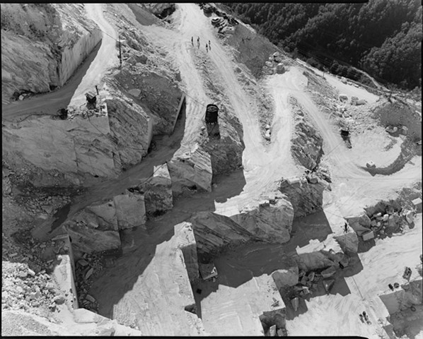 View into Gioia Quarry, 1989