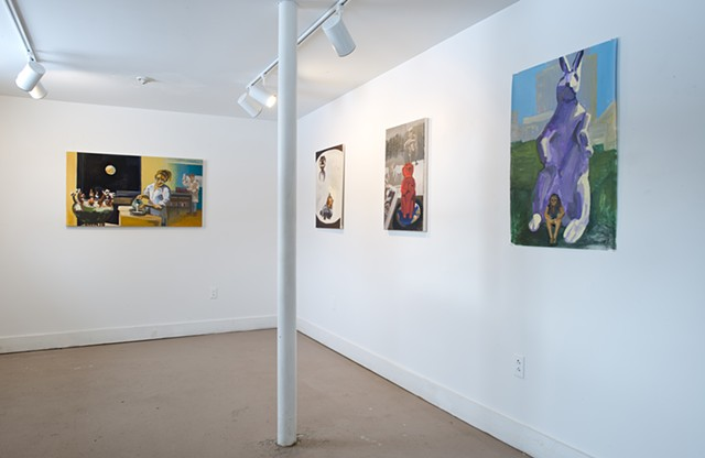 gallery shot of exhibit, November 2016