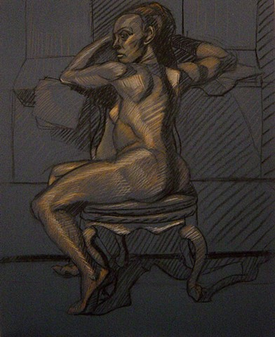 life sized figure drawing