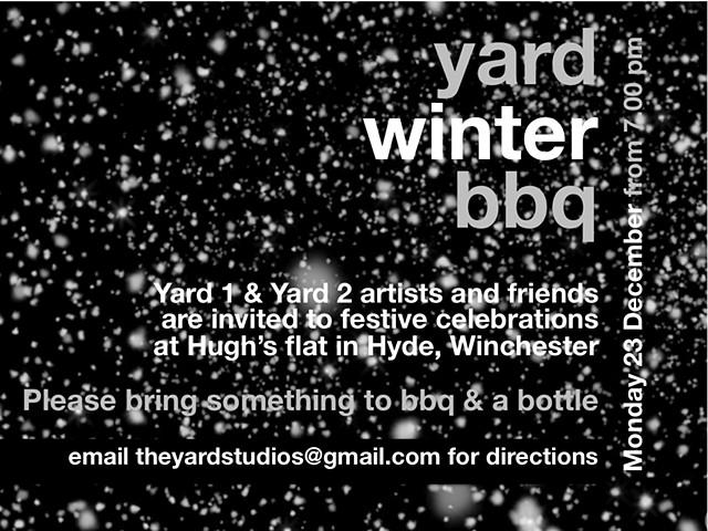 Yard Christmas BBQ