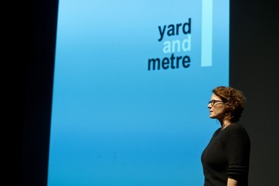 Jane Price introducing Yard and Metre