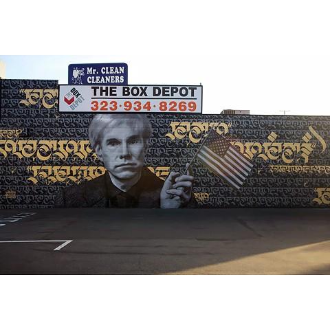 street art, spray paint, graffiti, andy warhol, karen bystedt, cryptik, cryptk movement, cryptik movement