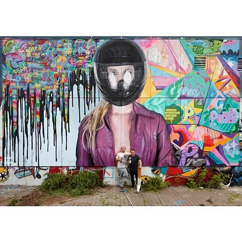 berlin, mural, street art, graffiti, nick flatt, punkone