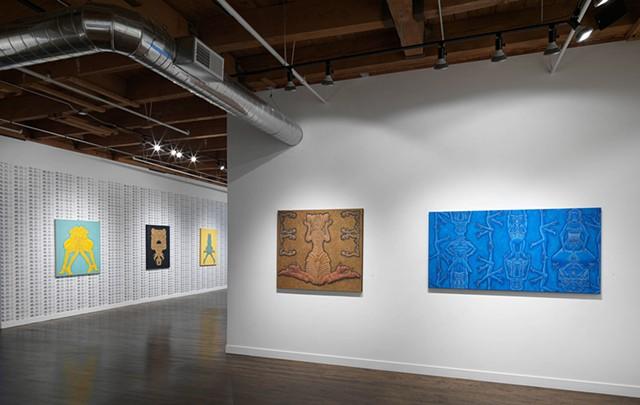 Exhibition Installation at Linda Warren Projects