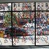 Window drawing, chashama 1351, NYC