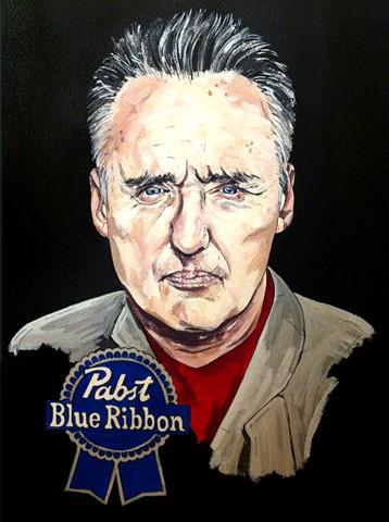 Pabst Blue Ribbon Dennis Hopper