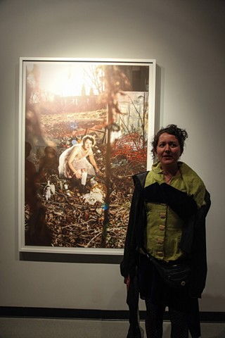 Kat Wilson's MFA closing reception
