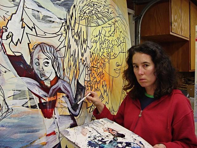 In the studio, 2005-06.