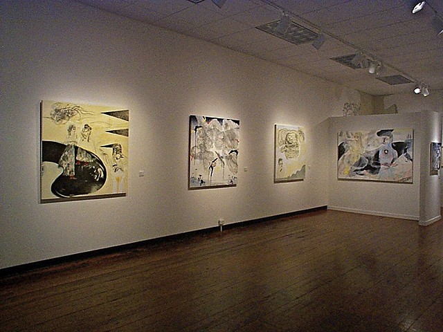 """""""Glamour Wood"""" a solo exhibition at the HSU First Street Gallery, 2003."""