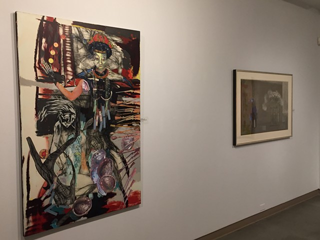 """Exhibition: """"Here and There: Topographic Conversations with Morris Graves""""."""